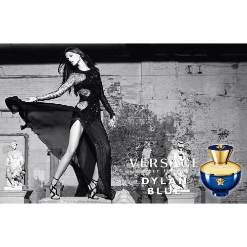 Versace Dylan Blue Pour Femme Set 100ml eau de parfum spray + 10ml edp mini + Tas