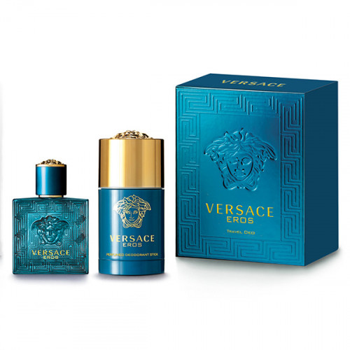 Versace Eros Set 50ml eau de toilette spray + 75ml  Deodorant Stick