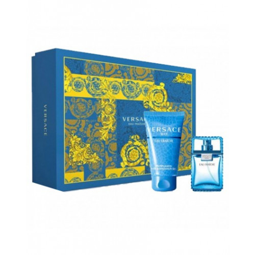 Versace Man Eau Fraiche Set 30ml eau de toilette spray + 50ml showergel