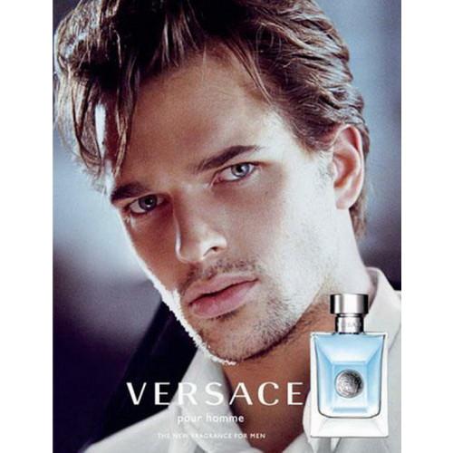 Versace Pour Homme Set 100ml eau de toilette spray + 10ml eau de toilette spray + toilettas