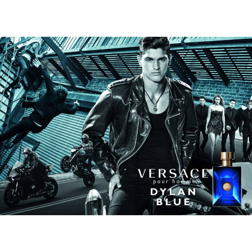 Versace Pour Homme Dylan Blue Set 100ml eau de toilette spray + 150ml Showergel + 10ml edt Miniatuur