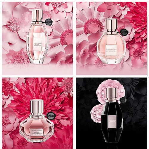Viktor & Rolf Flowerbomb Midnight 100ml eau de parfum spray