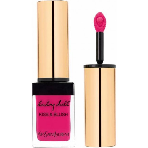 Yves Saint Laurent YSL Baby Doll Kiss & Blush Lips & Cheeks Lippenstift + Blush Nr 1 Fuchsia Desinvolte
