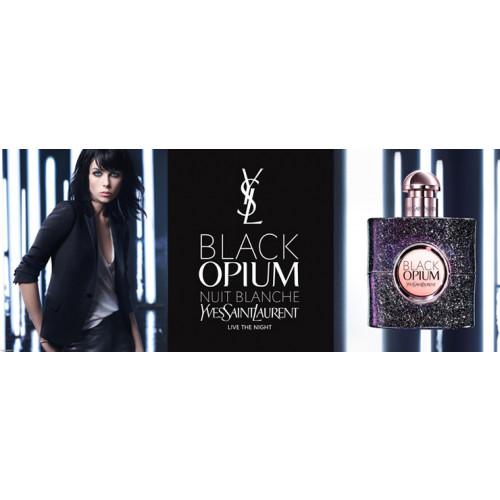YSL Yves Saint Laurent  Black Opium Nuit Blanche 50ml eau de parfum spray