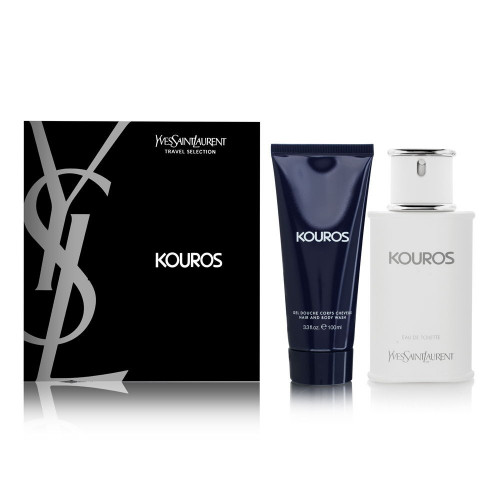 YSL Yves Saint Laurent Kouros set 100ml eau de toilette spray +  100ml showergel