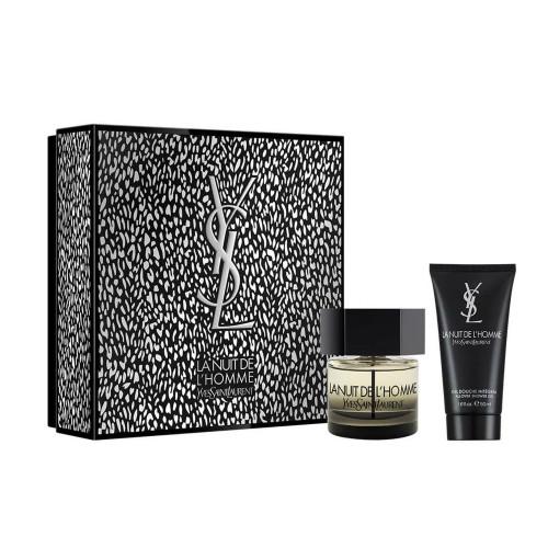 YSL Yves Saint Laurent La Nuit de l'Homme Set 60ml eau de toilette spray + 50ml Showergel