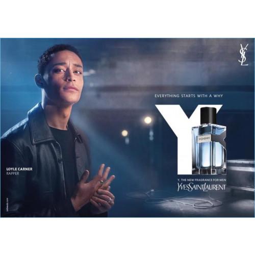 Yves Saint Laurent Y For Men 60ml eau de toilette spray