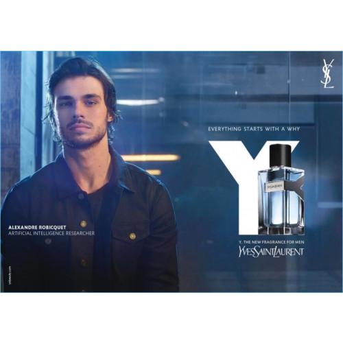 Yves Saint Laurent Y For Men Set 100ml eau de toilette spray + 10ml edt