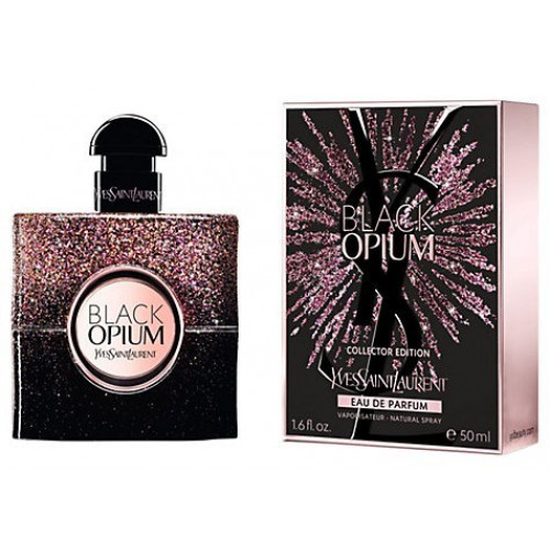 YSL Yves Saint Laurent Black Opium Firework Collector Edition 50ml eau de parfum spray