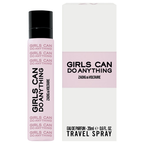 Zadig & Voltaire Girls Can Do Anything 20ml eau de parfum travelspray