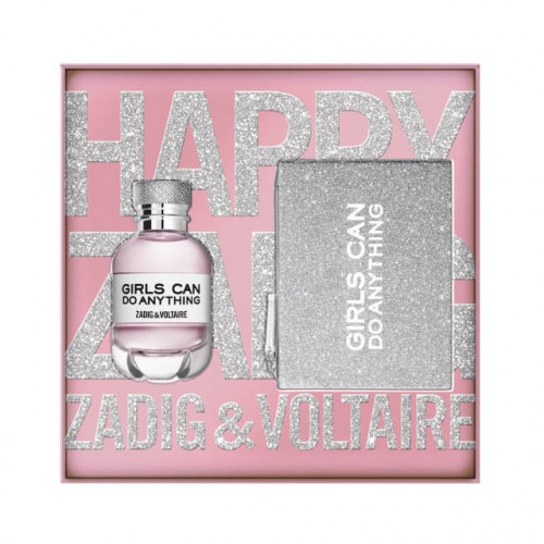 Zadig & Voltaire Girls Can Do Anything Set 50ml eau de parfum spray + Tasje