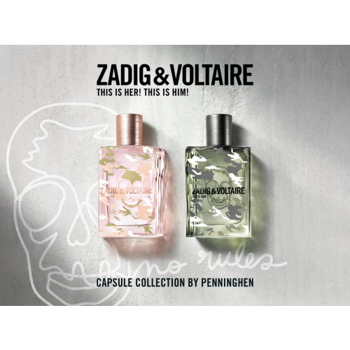Zadig & Voltaire This Is Him! No Rules 100ml eau de toilette spray
