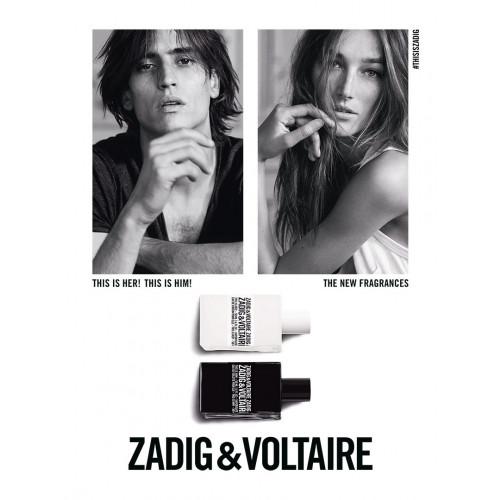 Zadig & Voltaire This Is Him! Set 100ml eau de toilette spray + 2x 75ml Showergel