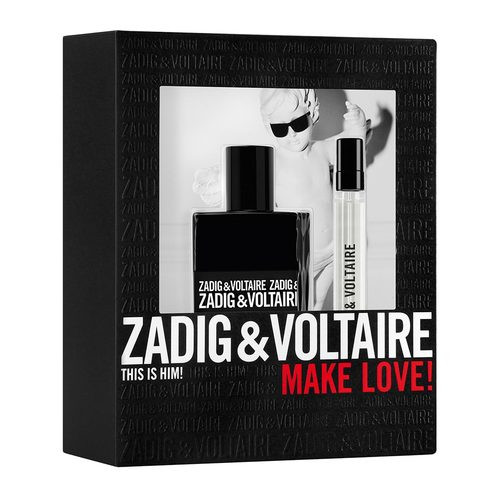 Zadig & Voltaire This Is Him! Set 50ml eau de toilette spray + 10ml edt