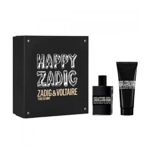 Zadig & Voltaire This Is Him! Set 50ml eau de toilette spray + 100ml Showergel