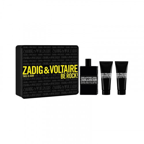 Zadig & Voltaire This Is Him! Set 100ml eau de toilette spray + 2x 75ml Showergel