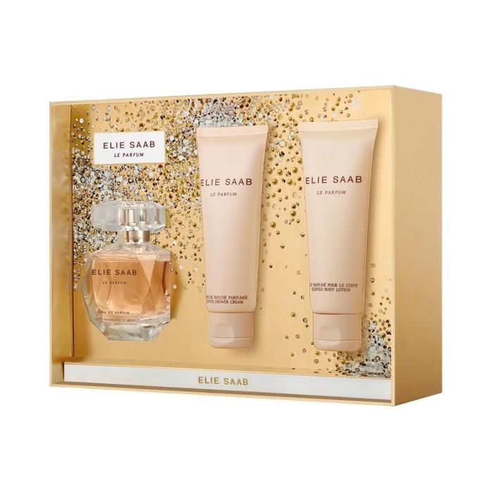 Elie Saab Le Parfum Set 50ml eau de parfum spray + 75ml Showergel + 75ml Bodylotion