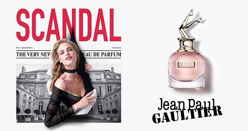 Nieuw! Gaultier Scandal: een elegant Aura met ondeugende energie !