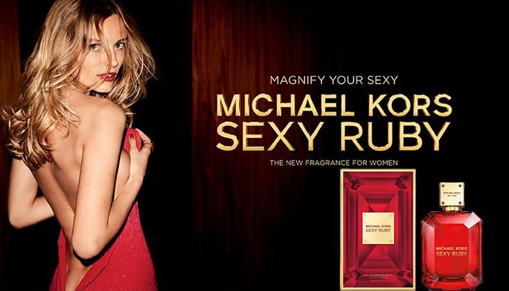 Nieuw! Michael Kors Sexy Ruby schittert van vurige sensualiteit!