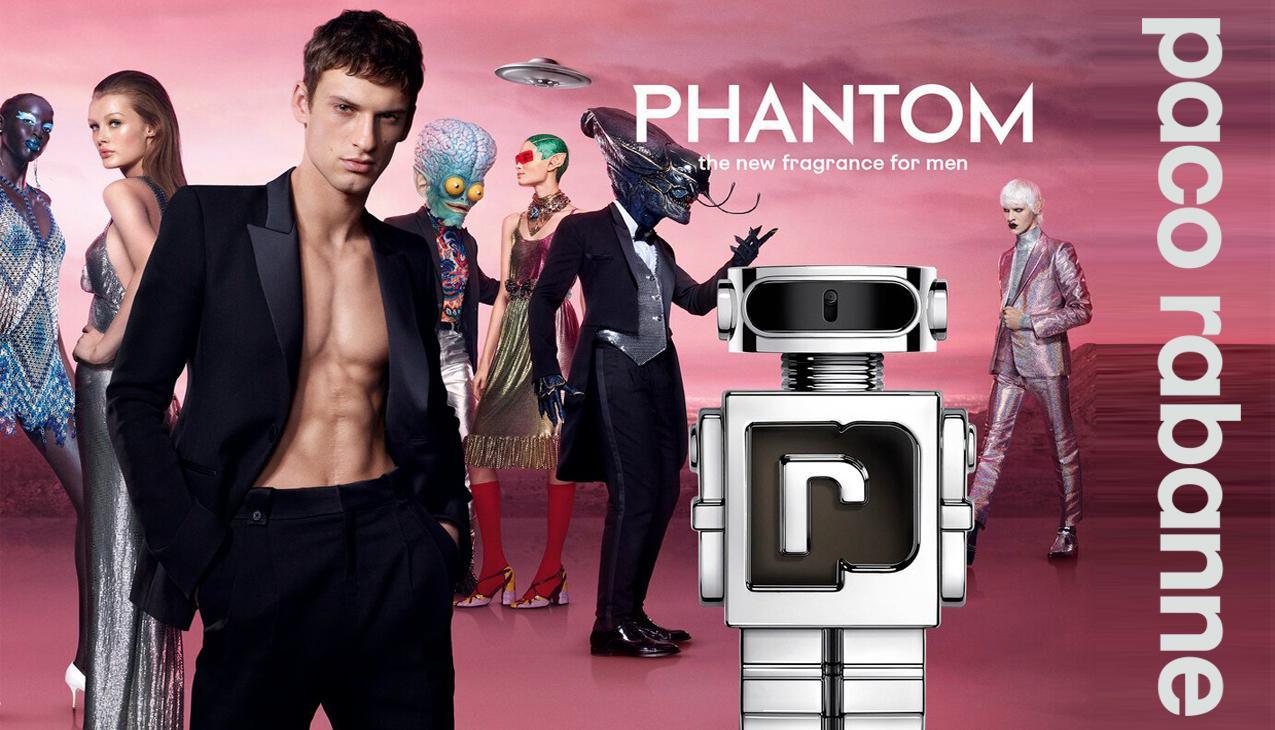 Nieuw! Paco Rabanne Phantom eau de toilette