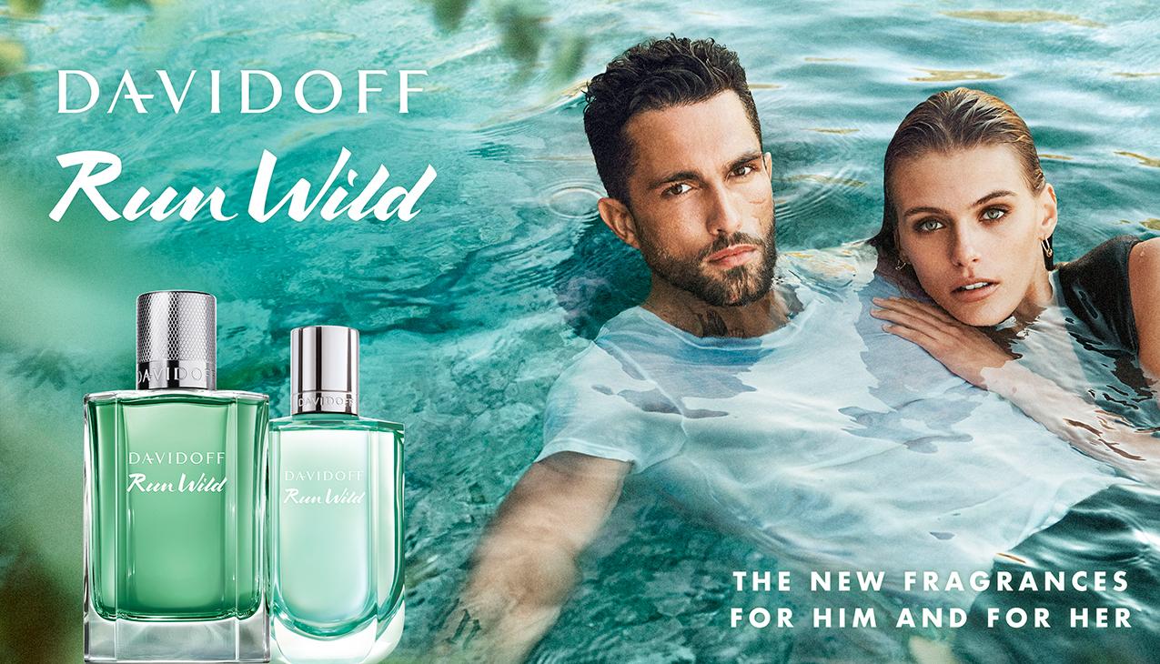 Nieuw van Davidoff! Run Wild for Her en Him eau de toilette