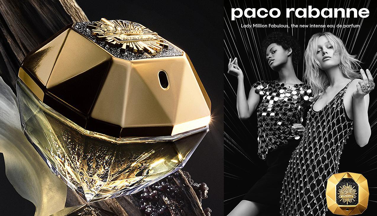 Nieuw! Paco Rabanne Lady Million Fabulous eau de parfum